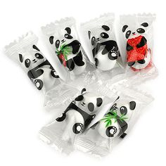 Cute pandas: your daily packaging smile : ) PD
