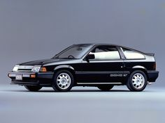 Honda CRX, with DOHC engine.  This engine only made it to the US under the hood of the first generation Acura Integra.