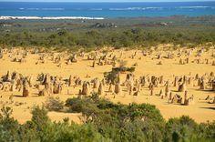 Australia, Pinnacles, Limestone #australia, #pinnacles, #limestone