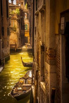 Canals of Venice, Italy: