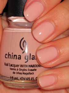 ❤️China Glaze Nail Lacquer with Hardener in Cotton Candy Cute Nails, Pretty Nails, Fancy Nails, Hair And Nails, My Nails, Bella Nails, Nail Polish Designs, Nail Designs, Cotton Candy Nails