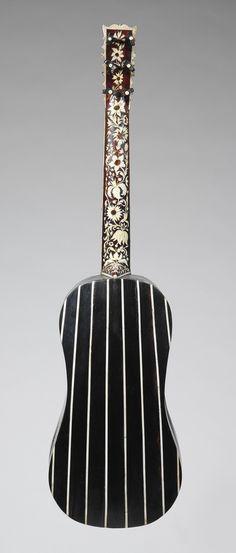 Guitar, Joachim Tielke, c. 1695 - 1699