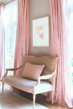 Pink done right can add sophistication to any room!