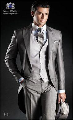 Chaqué Groomswear 914 gray