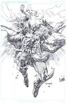 Thor commission by sjsegovia.deviantart.com