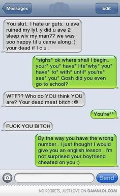 HAHAHAHA totally something i would do! im such a grammar nut!