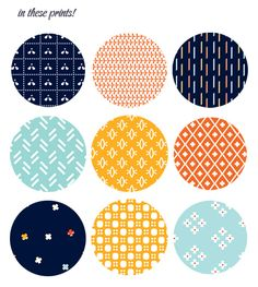 printable paper patterns (originally intended for Advent calendar); oh happy day
