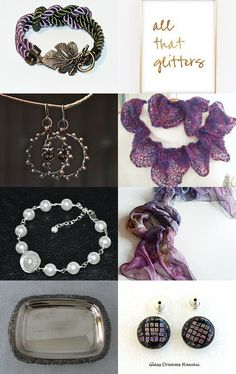 All That Glitters by JanMarie on Etsy--Pinned with TreasuryPin.com