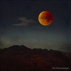 Blood Moon Rising by Dirk Wuestenhagen