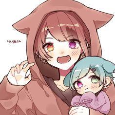 Anime Wolf Girl, Cute Anime Boy, Anime Guys, Otaku, Kawaii Drawings, Cute Drawings, Manado, Neko Kawaii, Manga Mania