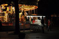 Carousel somewhere in London