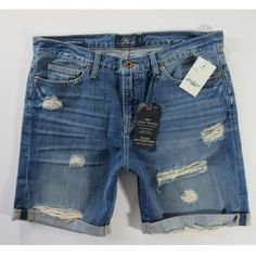 "Lucky Brand Dylan boyfriend short PRICE FIRM 100% cotton, 8"" inseam. Distressed. Intentional rips & holes. These are my own photos. No trades. All sales final! Festival season Lucky Brand Shorts Jean Shorts"