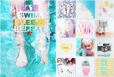 """Project Life Double Page """"Summer"""" with Tutorial"""