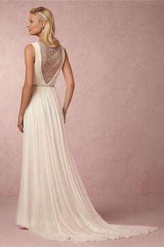 Wedding dresses with unique backs