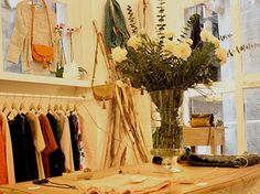Ivori Barcelona - Clothes store in Born, showcasing items from independent local designers.