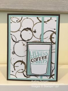 Stampin' Up! Coffee Cafe