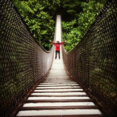 Lynn Canyon Suspension Bridge in Vancouver from @floracanthony- #webstagram