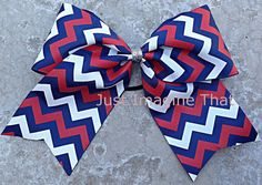 3 Width Cheer Bow 7x6.5 Texas Size Cheer by JustImagineThatBows, $5.50