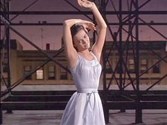 Natalie Wood graceful in West Side Story