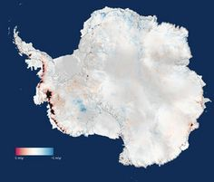 CryoSat finds sharp increase in Antarctica's ice losses: Three years of observations from ESA's CryoSat satellite show that the Antarctic ice sheet is now losing 159 billion tonnes of ice each year – twice as much as when it was last surveyed.