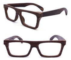eb00974c46c4 KNIGHT handmade Big wing wood wooden eyeglasses glasses frame wood eyewear  Large Size Glasses Logo