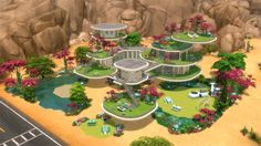 10 Wacky Alien Lots for The Sims 4 by AnchesenamonSim << Sims Community