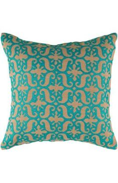 Rizzy Rugs Scranton Decorative Pillow (Set Of 2) Blue at Rugs USA