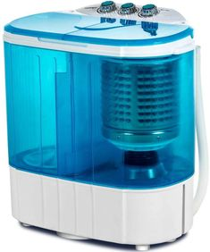 Best Seller Portable Washing Machine, Kuppet Compact Mini Washer, Wash&Spin Twin Tub Durable Design Wash All Laundry Swim Suit Apartments, Dorms, RV Camping (Blue) online - Thetophitsclothing Washing Machine Reviews, Mini Washing Machine, Portable Washing Machine, Washing Machines, Spin Dryers, Washer Machine, Laundry Dryer, Laundry Appliances, Laundry Room Design