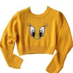 Cute Fashion, Teen Fashion, Korean Fashion, Fashion Outfits, Mustard Sweater, Yellow Sweater, Cute Summer Outfits, Cute Outfits, Hand Painted Sarees