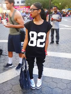 Varsity Muscle Tank. Converse Outfit. Chuck Taylors. Urban Outfit. Hip Hop Fashion. Swag