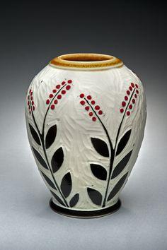 Karen Newgard | Piedmont Craftsmen    ...........another interesting piece of pottery