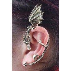 Dragon Ear Cuff Earring :D