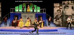 Harlequin Costume -Theatrical Costume Rentals for Opera, Gilbert & Sullivan and Musical Theatre - Buddy Holly Story Costume rentals