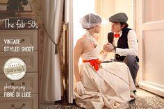 Inspiration shoot, fab 50s vintage wedding | ©2011 Fibre di Luce
