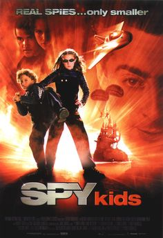 """poster for """"Spy Kids"""" by Robert Rodriguez (2001)"""