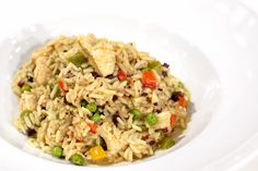 Arroz com açafrão, frango, morcela, pimentos e ervilhas | Receitas | Chefs' Academy | RTP