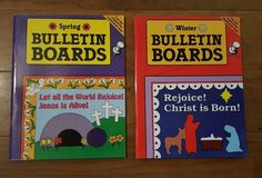 Rainbow Books Sunday School Bulletin Boards Winter Spring Home School BTS 0937282359 | eBay