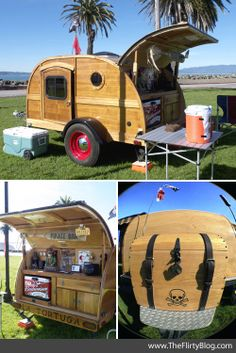 The Flirty Blog: A teardrop trailer showcase on SF's Treasure Island