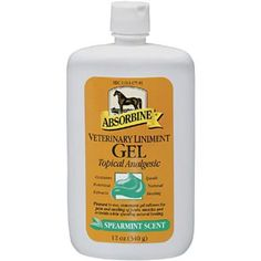 I used to use this on my horse AND my aches. Ten times better than Icy Hot. Will change your life.