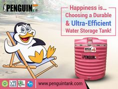 Making right & pocket-friendly decisions brings happiness. Penguin Tanks never disappoints in terms of price, durability and safety. #PenguinTank
