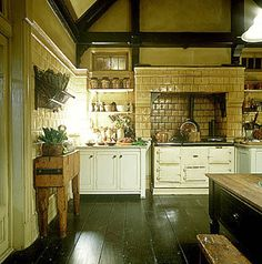 Kitchen from the movie Practical Magic.