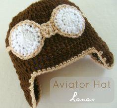 Lanas de Ana: Aviator Hats