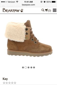 Bear paw boots. Getting these for Christmas.