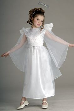 Child's Deluxe Angel Costume - Candy Apple Costumes - Angel Costumes