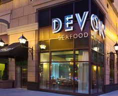 Devon Seafood Grill - fun place and jeans and a t-shirt will work at the bar