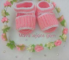 sandalias tejidas para bebe