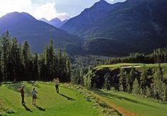 Greywolf Golf Course Cliffhanger Shootout.  Photo courtesy of Panorama Mountain Village.