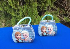 Disney Frozen Elsa and Anna Birthday favor by FantastikCreations