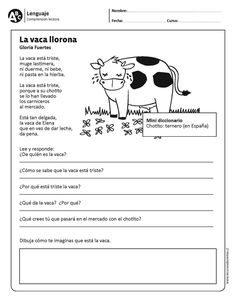 To Learn Spanish Lesson Plans Printing Pattern Shape Teach Me Spanish, Spanish Notes, Learn Spanish Free, Learning Spanish For Kids, Spanish Teaching Resources, Spanish Language Learning, First Grade Reading Comprehension, Reading Strategies, Student Info