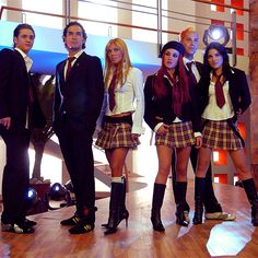 Rebelde- This Hispanic show I was obsessed with.. Wish I went to this school!